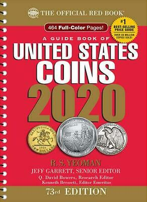 The Official Red Book: A Guide Book of United States Coins 2020, 73rd Edition