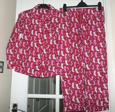 Marks and Spencer Girls Red Mix Pyjamas - Age 3-4 - New