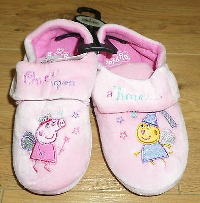 Marks and Spencer Peppa Pig Girls Slippers - Size 12  -NEW