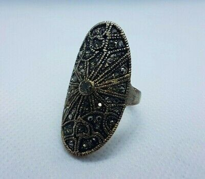 rare extremely ancient old ring bronze legionary roman ring bronze with stones