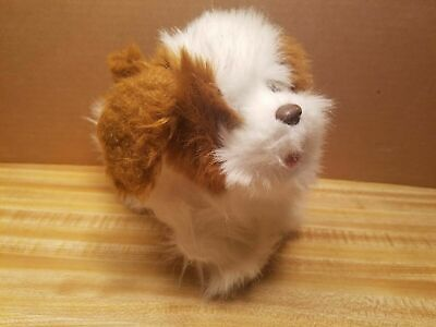 FurReal Friends Brown & White King Charles Spaniel -walks & sounds #2010