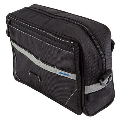 "- Black 6.75X3.5X2.75/"" Bikase Beetle Top Tube Bag Bags 40 C.I"