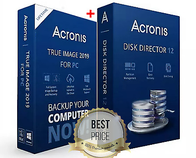 Acronis Disk Director 12 | Acronis True Image Boot 2019 | Lifetime license
