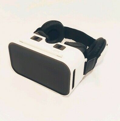 "New Sharper Image Virtual Reality Headset Headphones 4.7"" - 5.9"" Android iPhone"