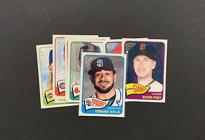 2019 Topps Gallery-Heritage. U Pick Your Player. Complete Your Set. 1–40