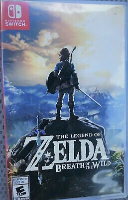 Legend of Zelda: Breath of the Wild (Nintendo Switch, 2017) Great condition!