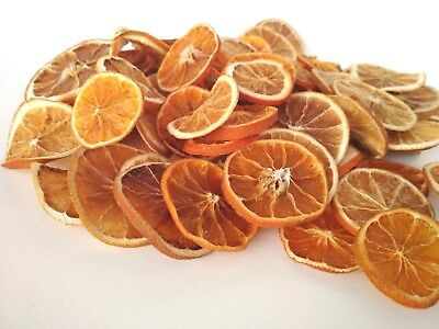 DRIED ORANGE SLICES Scented CHRISTMAS CRAFT WREATH FLORIST GARLANDS DECORATION