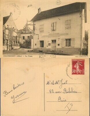 [500890] B/TB|| || - France  - Chavroches, Architectures, Poste