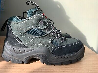 Mens / Boys Steel Toe Capped Boots / Walking Boots Size 5
