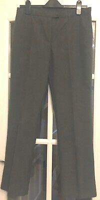 Marks and Spencer Girls Grey School Trousers Age 15-16 New