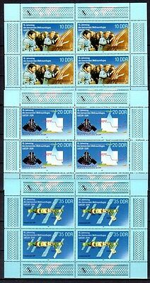 East-Germany/GDR/DDR: All stamps of 1988 in a year set complete, MNH