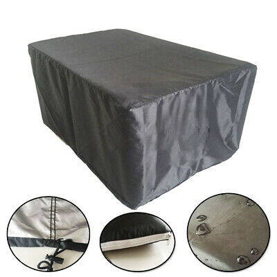 3 Sizes Waterproof Patio Furniture Cover Outdoor Garden Rattan Table Chair Cover