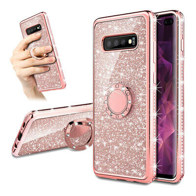 For Samsung Galaxy A70 A50 A40 M30 M20Case Shell Shockproof Luxury Bling Glitter