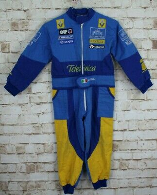 JARNO TRULLI Kids Blue One Piece Size XL