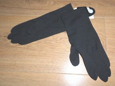 Marks and Spencer Ladies Black Gloves - New with Tag