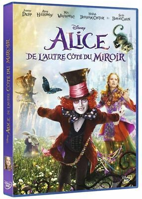 DVD Alice of the other SIDE of Mirror Johnny Deep (New Blister Pack)