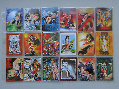 Vampirella   2011   Full Set  72 Base Set   Trading Cards