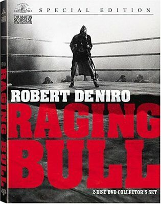 Raging Bull MOVIE 2 DVD Set, Collectors Edition) Martin Scorsese Robert De NIRO