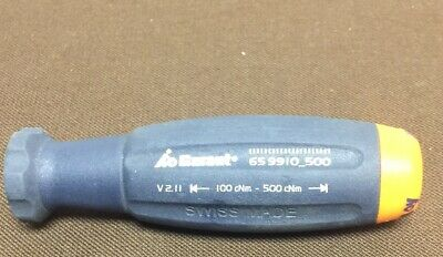 Garant SWISS Digital TORQUE Screwdriver 100cNm-500cNm ft/lb - Handle Only