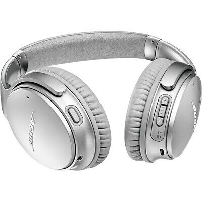 Bose QC35 II QuietComfort 2 Noise Cancel Bluetooth Wireless Headphones - Silver