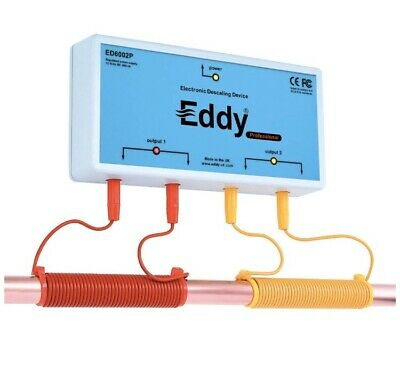 EDDY ELECTRONIC WATER DESCALER - Alternative to a Water Softener