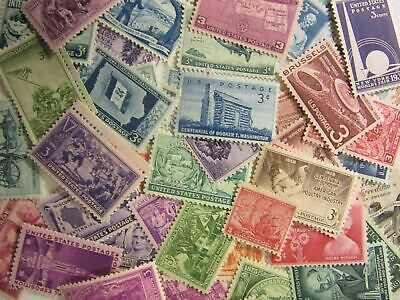 ANTIQUE US Postage Stamp Lot 50 to 120 YEAR OLD MNH Vintage Stamps