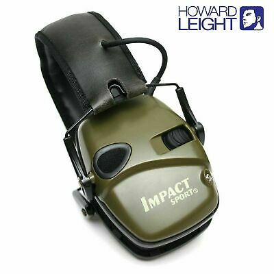 Howard Leight Impact Sport Electronic Hearing Protection, Earmuffs #R-01526 HOT!