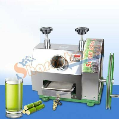 Commercial Stanless Steel Manual Sugarcane Sugar Cane Juicer Extractor Squeezer