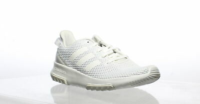 Adidas Womens Cf Racer Tr W White/White/Matte Silver Running Shoes Size 7