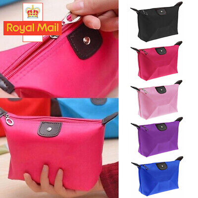 Waterproof Cosmetic Makeup Purse Wash Bag Organizer Pouch Travel Toiletry Case