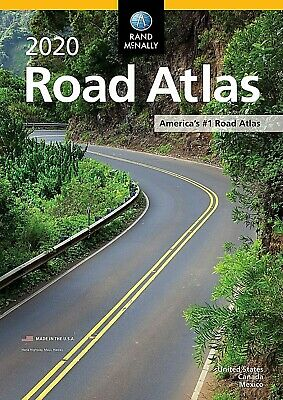 Rand Mcnally USA Road Atlas 2020 BEST New Scale Travel Maps United States