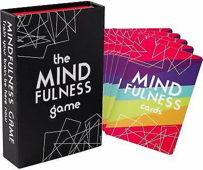 Mindfulness Therapy Games: Social Skills Game That Teaches Mindfulness, 40 Cards