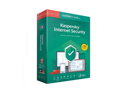 Antivirus - Kaspersky Internet Security 2019 1 Dispositivo 1 Año Renovación