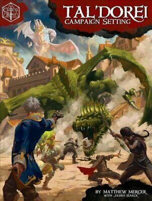 Critical Role: Tal'Dorei Campaign Setting by Matthew Mercer 9781934547847