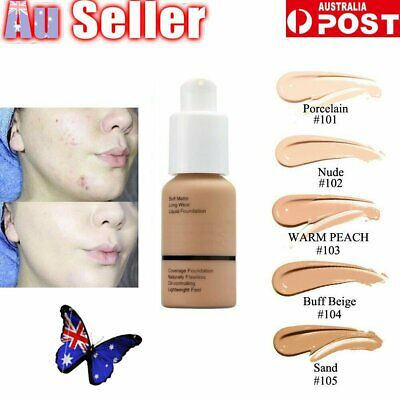 Soft Matte Full Coverage Liquid Foundation Concealer Longlasting  E&