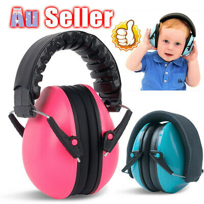 Adjustable Baby Ear Muffs Noise Cancelling Reducing Earmuffs Hearing Protect E&