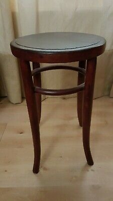 Lovely Vintage Bentwood wooden stool table stand refurbished £20
