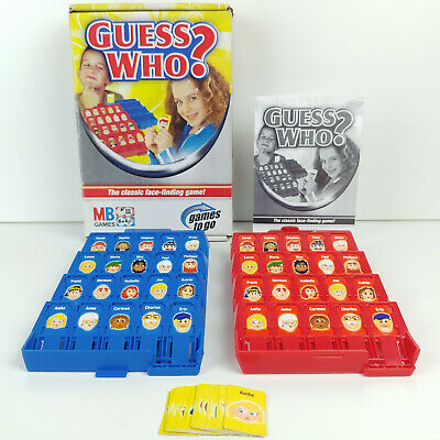 Small Travel Mb Games Guess Who, Hasbro Find The Face Snap Match, Kids In Car