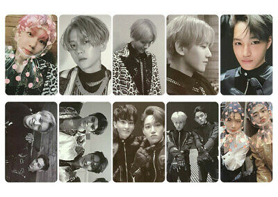 SuperM Version 3 Photocard Pop Up Store Postcard EXO NCT WAYV Shinee Fan Made