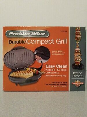 Proctor Silex Durable Compact Grill Small