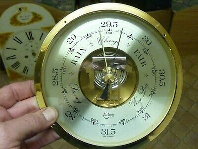 Useful Aneroid Barometer Insert Movement-Dial- - Working Fine--(Ba)