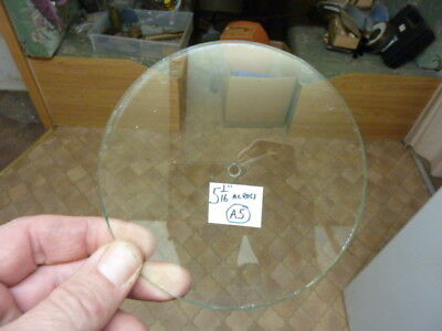 Useful Old Aneroid Barometer Centre Drilled Glass  (A5)