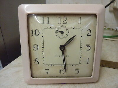 Good Old Westclocks Alarm Clock--All Working Well