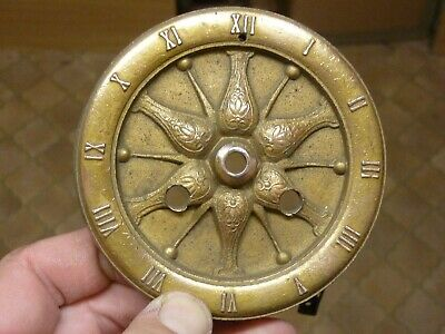 Unusual Antique French Clock Dial Etc  (Un) Free Post