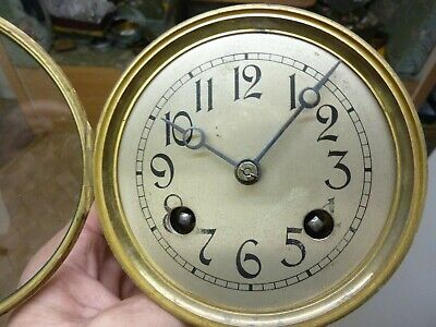 Old - Antique French ? - German ? Movement & Dial (Sd)  -Free Post Uk