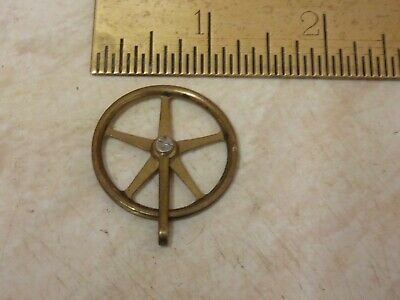 Nice Old-Antique 5 Spoke Vienna Regulator  Pulley-- Free Uk Post  (E)