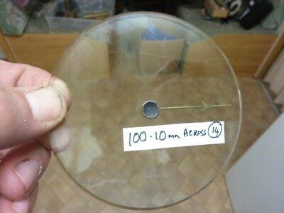 Good Old Aneroid Barometer Bevelled Glass - Hand-Set Knob (14)