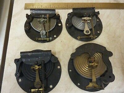 "4 Old 4"" Type Aneroid Barometer Movements (Jj) Spares Or Repair"
