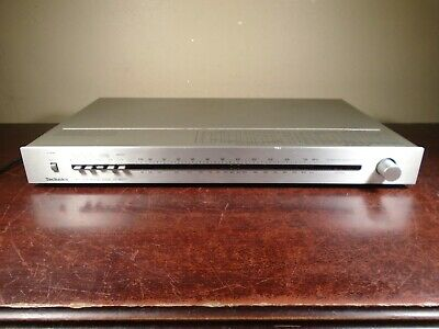 Vintage TECHNICS ST-8077 FM AM STEREO TUNER *poor cosmetics but works*