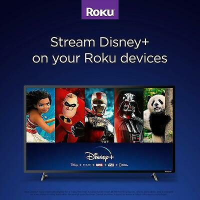 NEW 2019 Roku Express Plus HD 3930R Streaming Media Player Free TV Channel